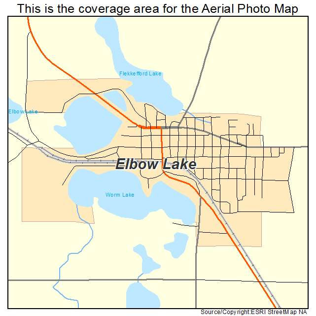 elbow lake mn map Aerial Photography Map Of Elbow Lake Mn Minnesota elbow lake mn map