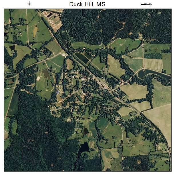 Duck Hill Ms >> Duck Hill Ms Mississippi Aerial Photography Map 2014