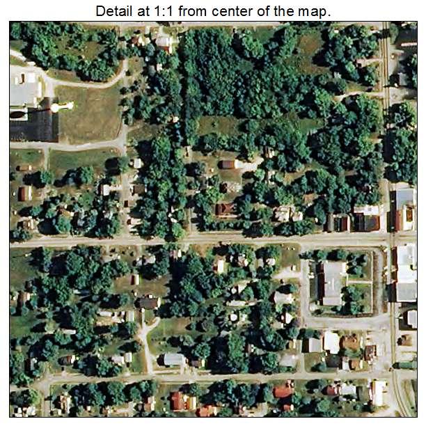 Hartville, Missouri aerial imagery detail