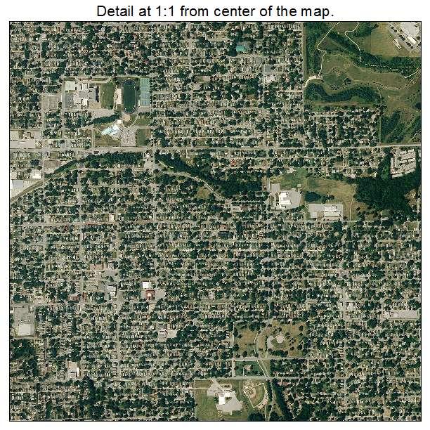 St Joseph, Missouri aerial imagery detail
