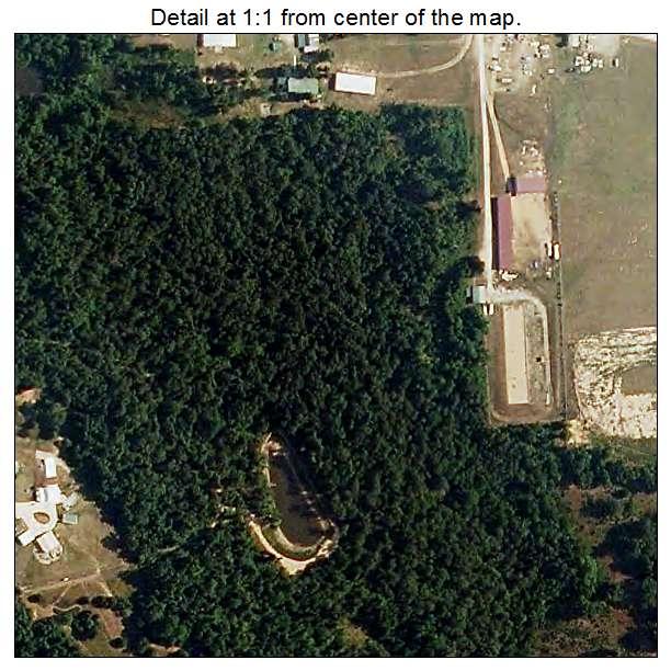 Theodosia, Missouri aerial imagery detail
