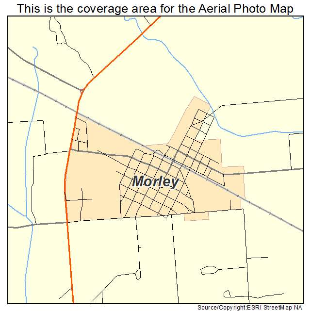 Morley, MO location map