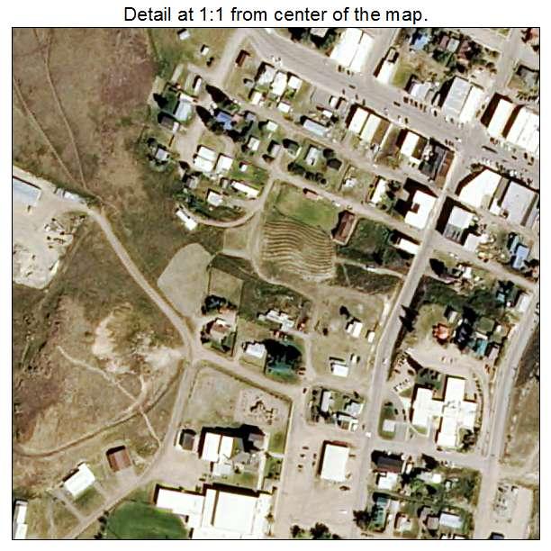 Maps Of Philipsburg: Aerial Photography Map Of Philipsburg, MT Montana