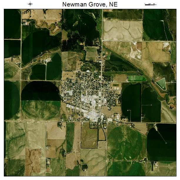 Newman Grove Ne >> Aerial Photography Map Of Newman Grove Ne Nebraska