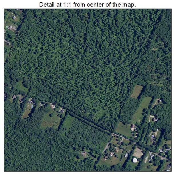 Farmington, New Hampshire aerial imagery detail