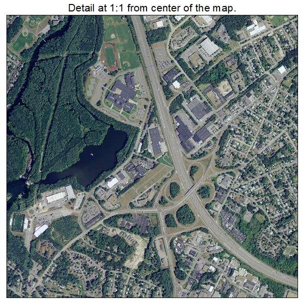 Aerial Photography Map Of Nashua NH New Hampshire