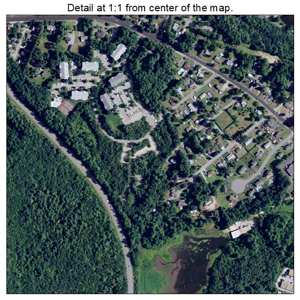 Pinardville, New Hampshire aerial imagery detail
