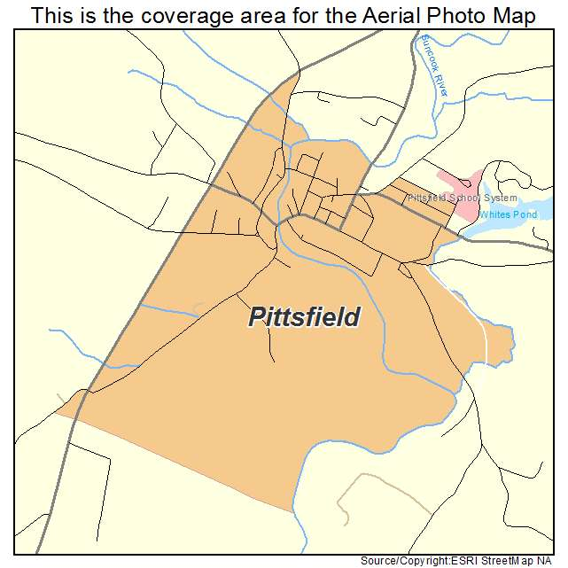 Pittsfield, NH location map
