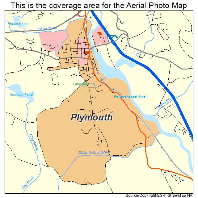 Plymouth, NH location map