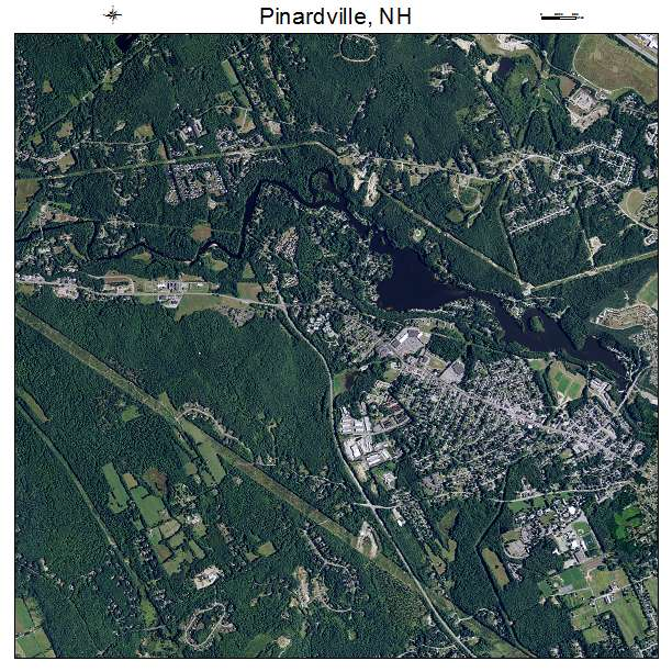 Pinardville, NH air photo map