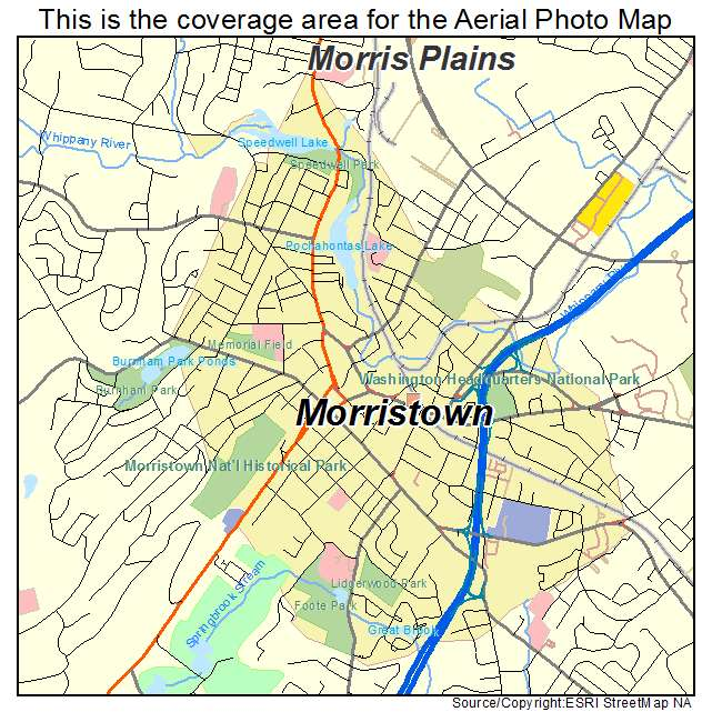 Morristown Nj City Data