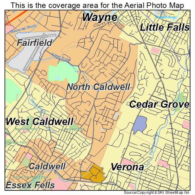 North Caldwell, NJ location map