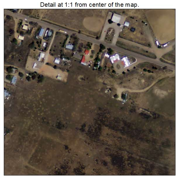 Cuba, New Mexico aerial imagery detail