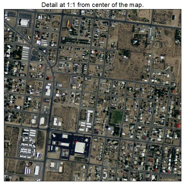 Deming, New Mexico aerial imagery detail