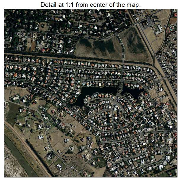 Sunland Park, New Mexico aerial imagery detail