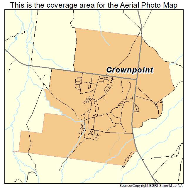 Aerial Photography Map Of Crownpoint Nm New Mexico
