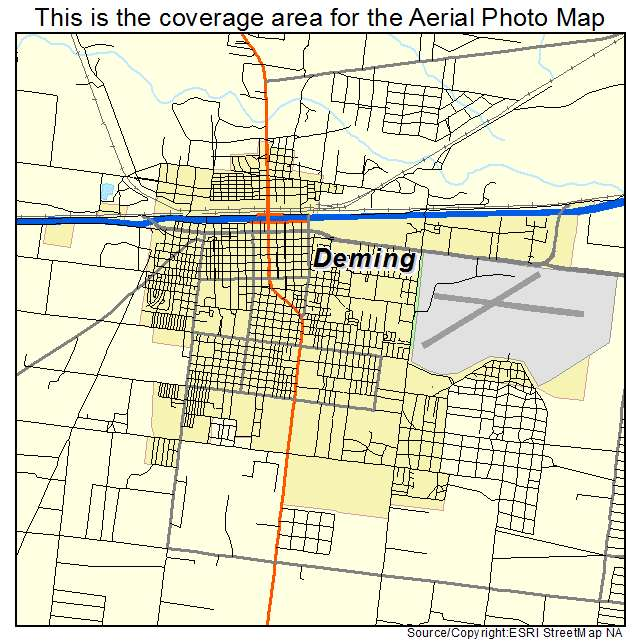 Deming, NM location map