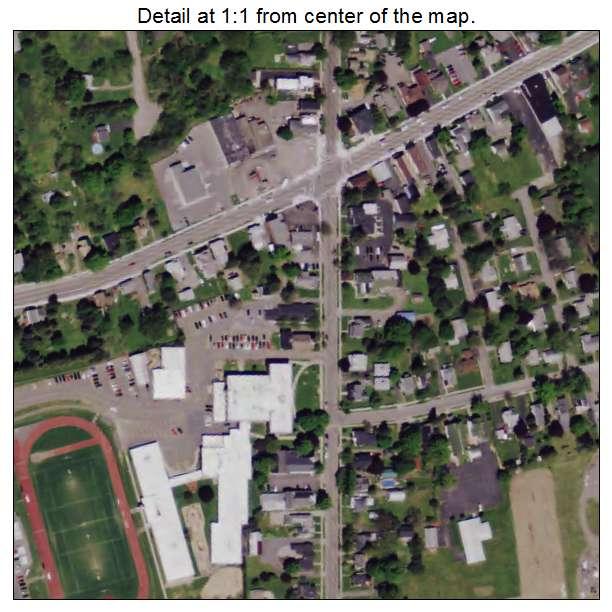 Aerial Photography Map of Tully NY New York