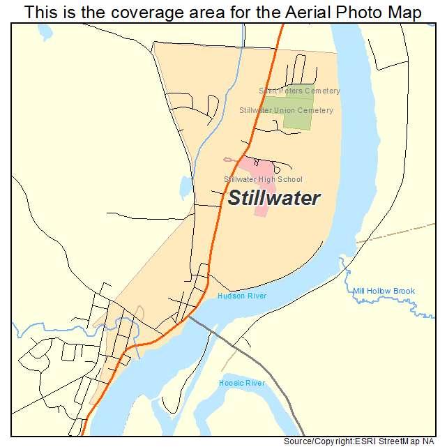 Stillwater, NY location map