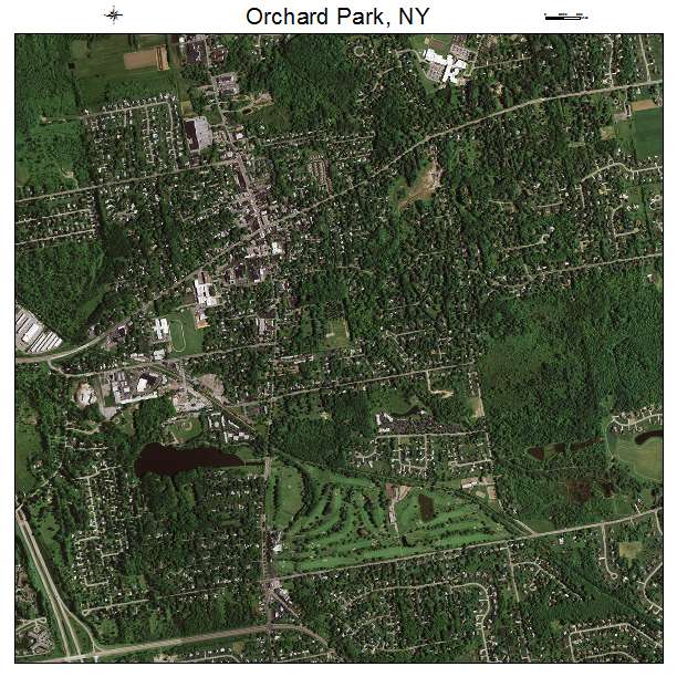 Orchard Park New York Map.Aerial Photography Map Of Orchard Park Ny New York