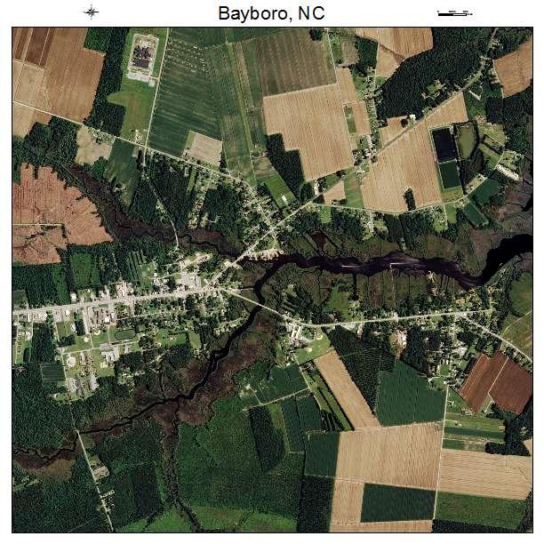 Bayboro, NC air photo map