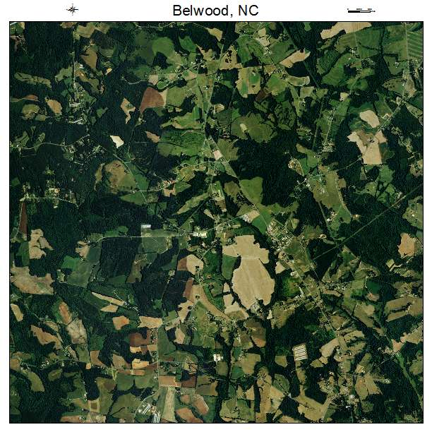 Belwood, NC air photo map