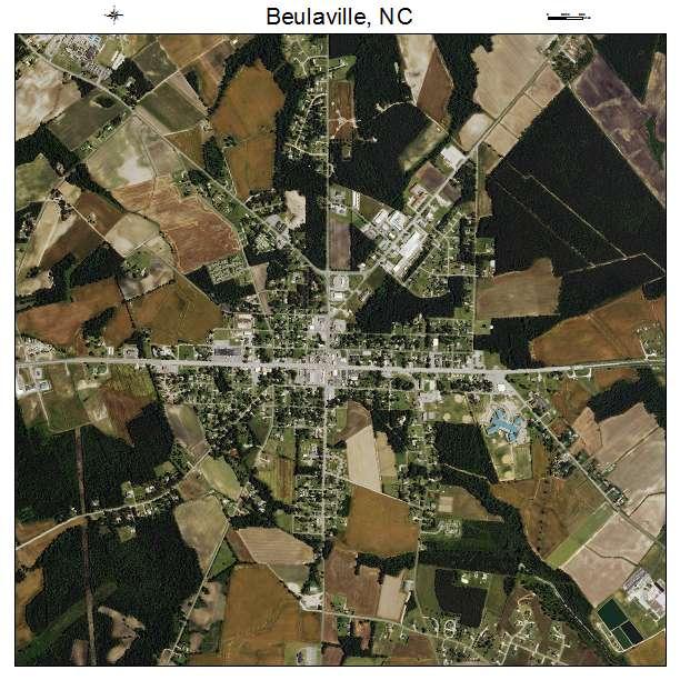 Beulaville, NC air photo map