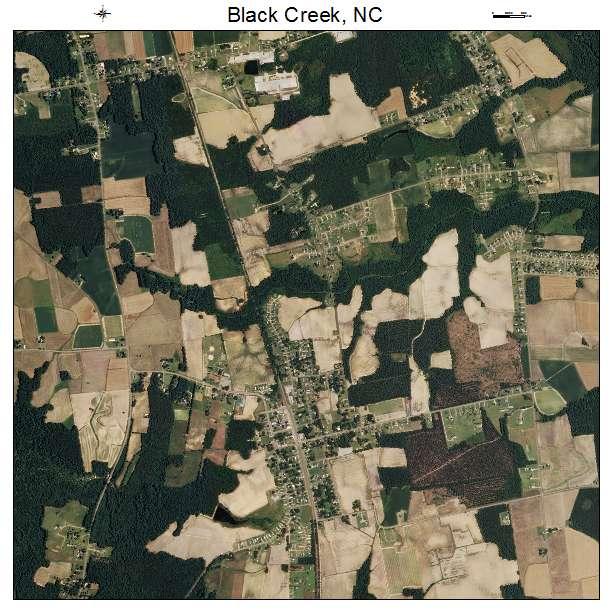 Black Creek, NC air photo map