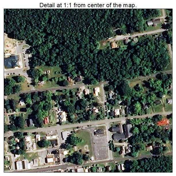 Bailey, North Carolina aerial imagery detail