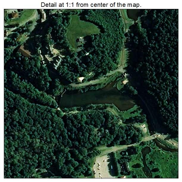 Banner Elk, North Carolina aerial imagery detail