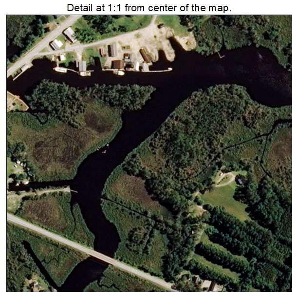 Bayboro, North Carolina aerial imagery detail