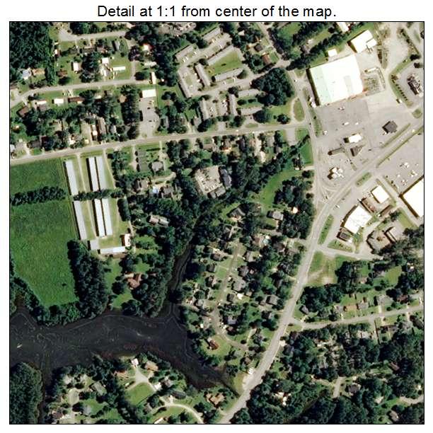 Beaufort, North Carolina aerial imagery detail