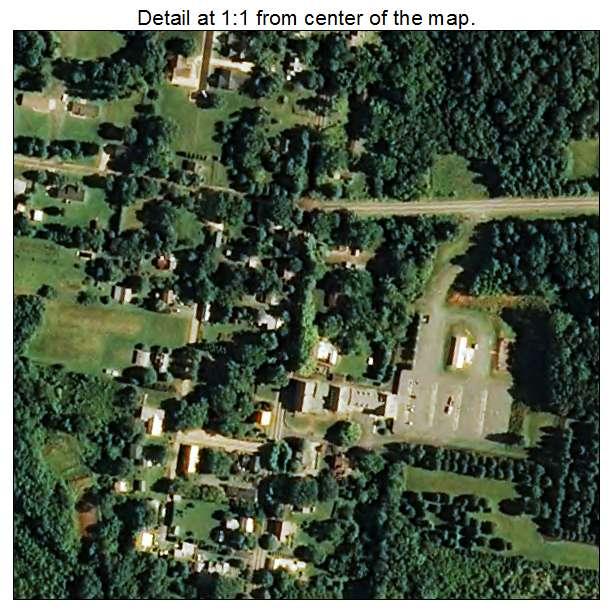 Bethania, North Carolina aerial imagery detail