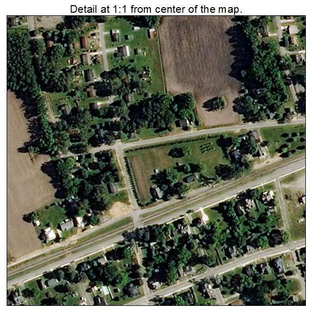 Bethel, North Carolina aerial imagery detail