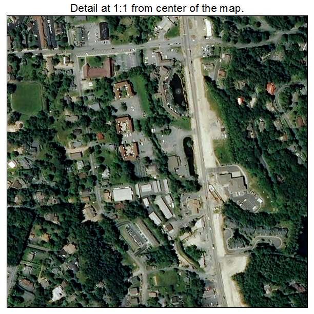 Blowing Rock, North Carolina aerial imagery detail