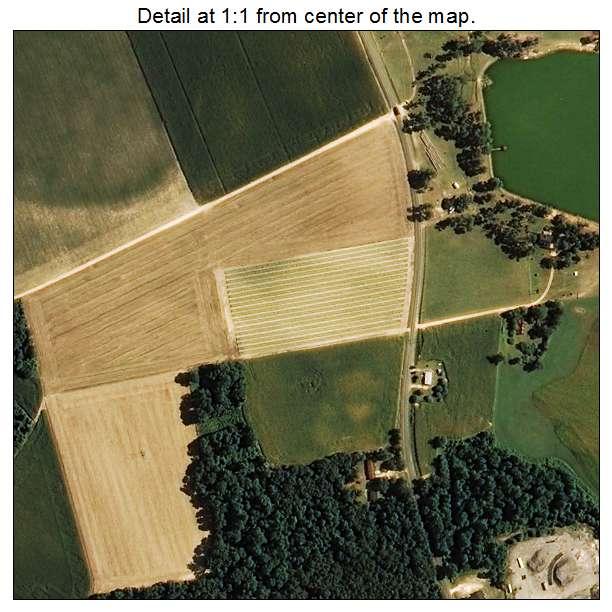 Bonnetsville, North Carolina aerial imagery detail