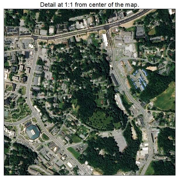 Boone, North Carolina aerial imagery detail