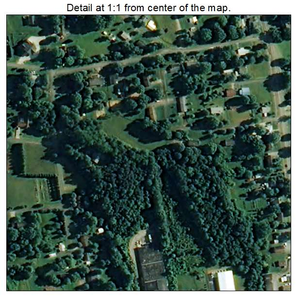 Boonville, North Carolina aerial imagery detail