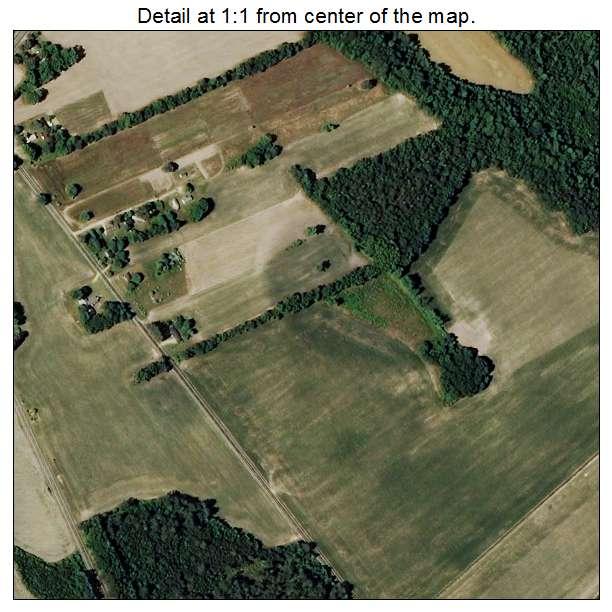 Bowmore, North Carolina aerial imagery detail