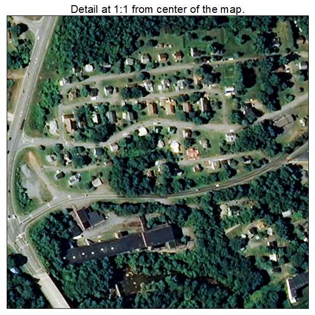 Brookford, North Carolina aerial imagery detail