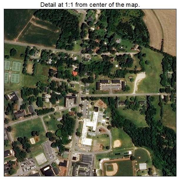 Buies Creek, North Carolina aerial imagery detail