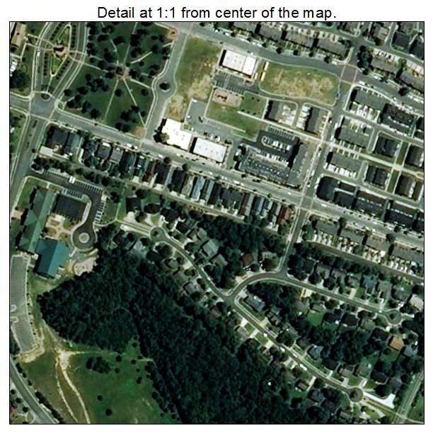 Lake Park, North Carolina aerial imagery detail