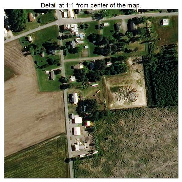 Lasker, North Carolina aerial imagery detail