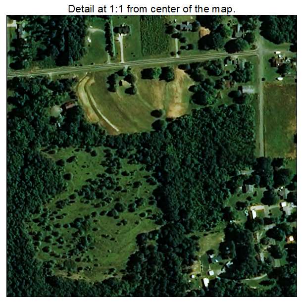 Lattimore, North Carolina aerial imagery detail