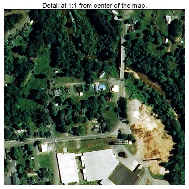 Lawndale, North Carolina aerial imagery detail
