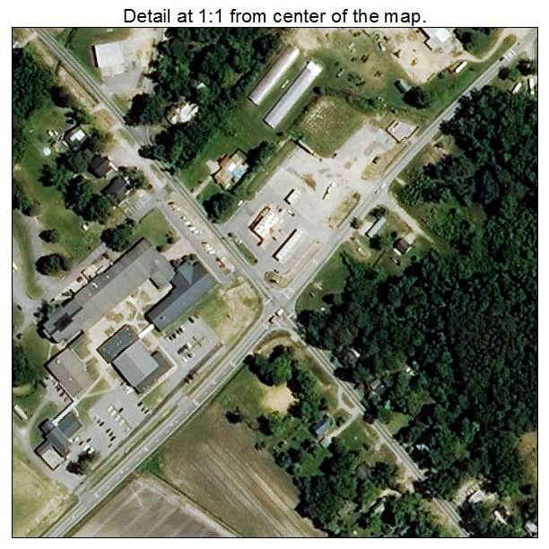 Leggett, North Carolina aerial imagery detail
