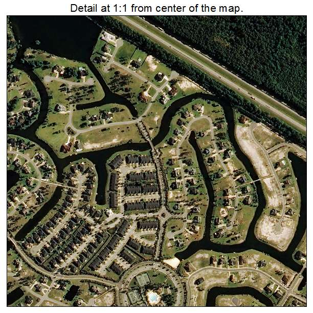Leland, North Carolina aerial imagery detail