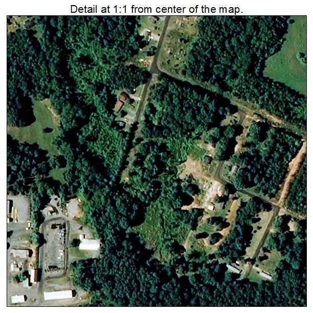 Light Oak, North Carolina aerial imagery detail