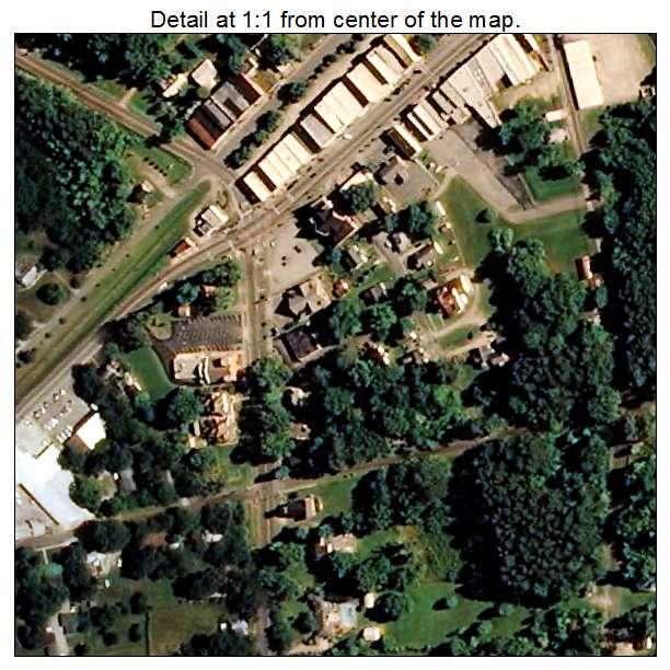 Littleton, North Carolina aerial imagery detail