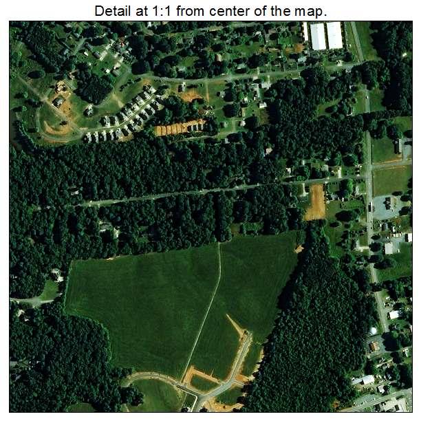 Locust, North Carolina aerial imagery detail